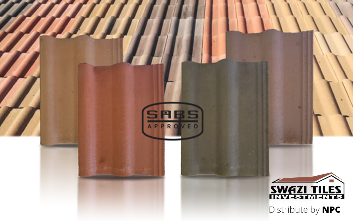 SABS Approved Double Roman Roof Tiles